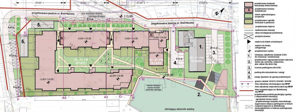 bielnik mieszkania przy parku - plan inwestycji